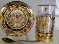 Набор Чайный Герб РФ