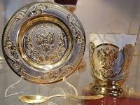Набор чайно-кофейный Герб РФ